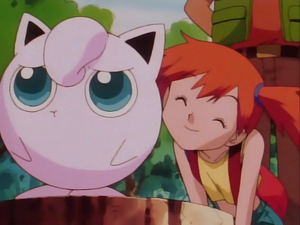 Misty and Jigglypuff