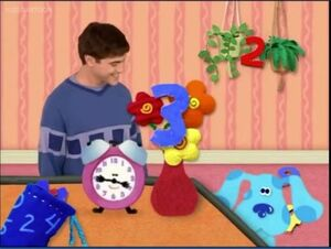 Noggin blue's clues blue tickety tock joe