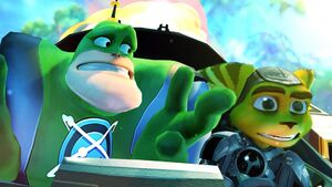 Ratchet with Qwark (A Crack in Time)