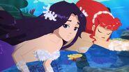 Cleo & Rikki Underwater