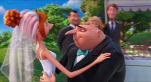 Gru and Lucy's wedding