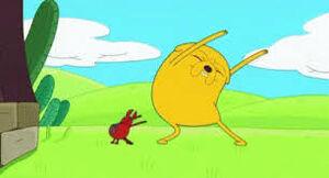 Jake dancing