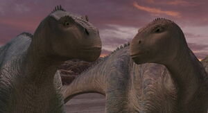 Aladar with Neera