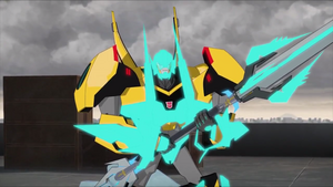 Bumblebee's Decepticon Hunter Armor
