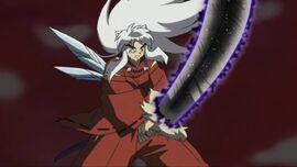 Its a rumic world inuyasha special black tessaiga 013