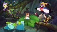 Jacquimo introduces Thumbelina to the Jitterbugs