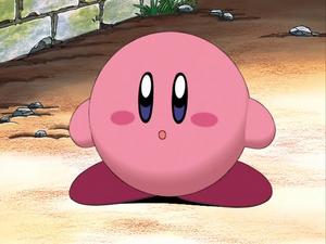 Kirby says poyo to them