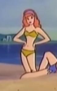 Daphne green bikini