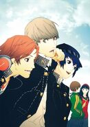 Persona 4 investigation team 4