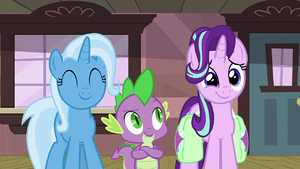 Trixie and Starlight filled with pride S7E2