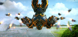 AOE bumblebee missiles