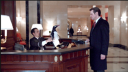 Darrell the receptionist returns the Penguin Popper tried to get rid of