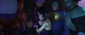 GoGo comforts Hiro
