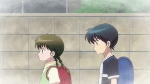 Jumonji and sakura