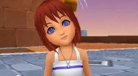 Kairi as a little girl
