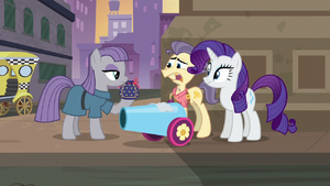 Pouch Pony scared of Maud S6E3