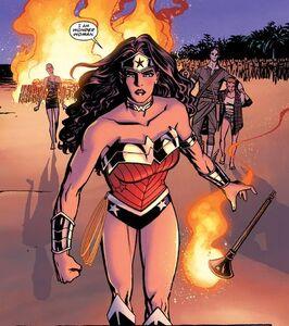 Wonder Woman Prime Earth 001