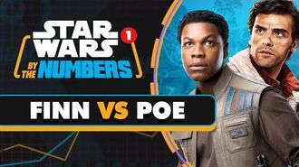 Every Time Someone Says Finn or Poe in the Sequel Trilogy Star Wars By the Numbers