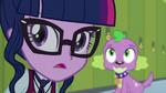 Twilight and Spike hear Cinch's voice EG3