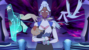 Allura is Like Why is There a Baby in My Arms