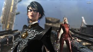 Bayonetta and Jeanne