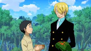 Ep 1 Sanji and Komatsu