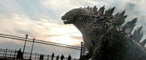 Full Godzilla 2014 side