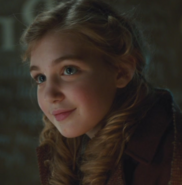 Liesel smiling warmly