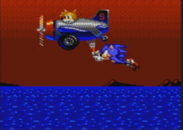 Sonic and tails in sonic spinball 8 bit