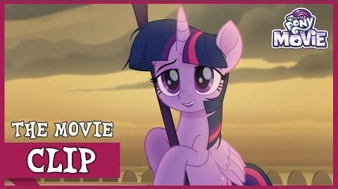 Twilight Retrieves The Staff of Sacanas My Little Pony The Movie Full HD