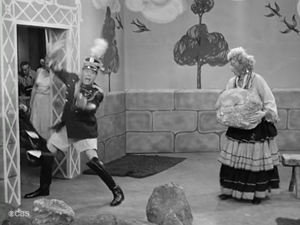 I Love Lucy The Operetta Ricky's costume pants being confiscated because Lucy's check for the operetta's props bounced