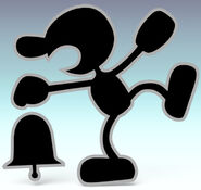 Mr. Game & Watch SSBB