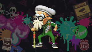 Octo Expansion Cap'n Cuttlefish promo