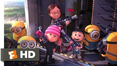 Despicable Me 2 (10 10) Movie CLIP - Battling the Minions (2013) HD