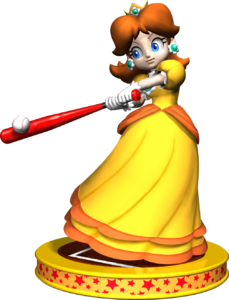 Princess Daisy Artwork - Mario Party 5