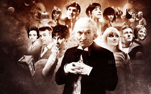The first doctor by dv8r71