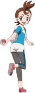 Verity with PokeBall