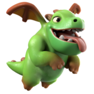 Coc Baby Dragon