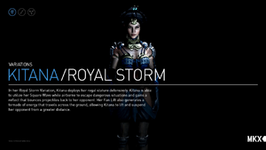 Kitana Royal Storm Variation