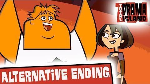 TOTAL DRAMA ISLAND Alternative Ending Gwen wins