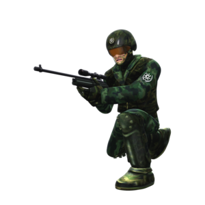 Jungle GUN Soldier