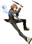 Yosuke Hanamura (BlazBlue Cross Tag Battle, Character Select Artwork)