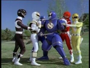 5 - Ninjor in same shot as Rangers
