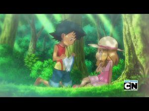 Ash and Serena's 1st meet