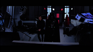 Darth Vader Luke arrive
