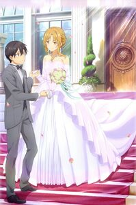 Kirito and Asuna Wedding