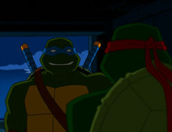 Leonardo and Raphael (Prodigal Son)