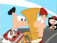 Phineas, isabella y ferb (super avion sonico) 2