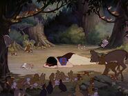 Snow White crying