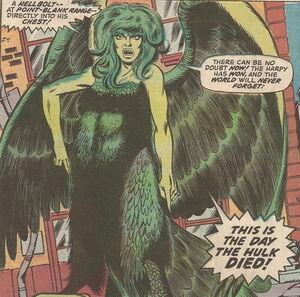 Betty-as-Harpy